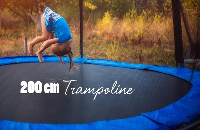 Trampolin 200 cm - Trampoline mit 2 Meter Durchmesser
