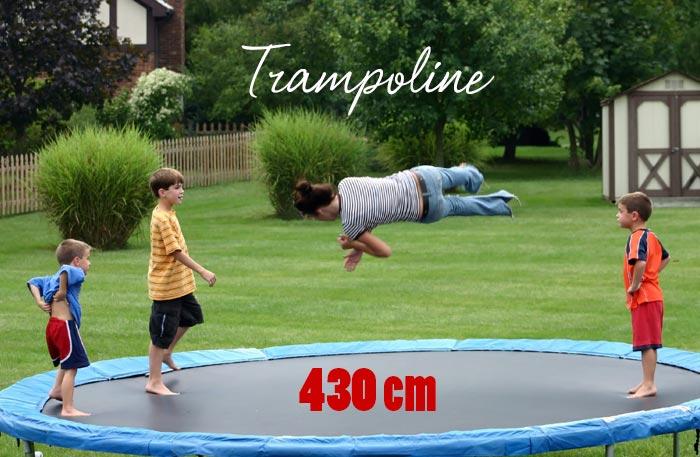 Trampolin 430 - Trampoline mit 430cm Durchmesser