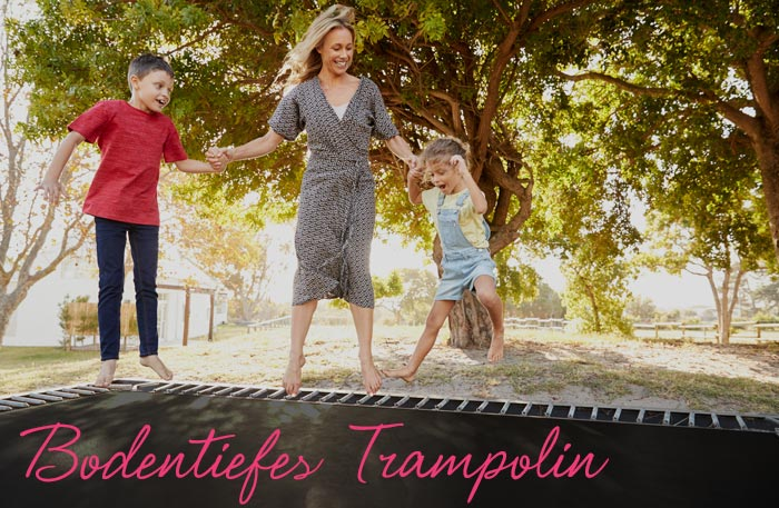 Trampolin Bodentief - Erdtrampolin