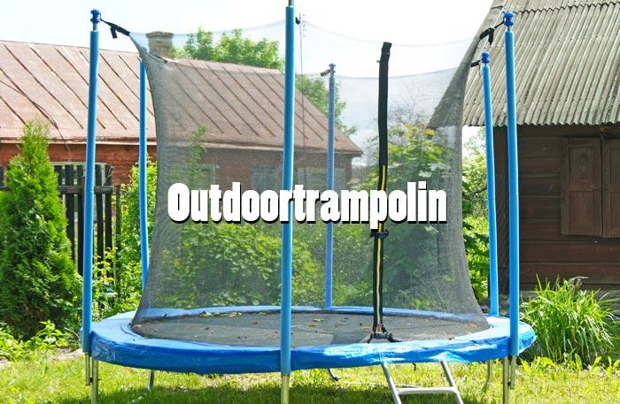 Trampolin Outdoor - Aussentrampolin