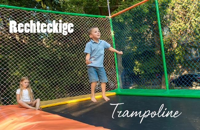 Trampolin Rechteckig - Eckige Trampoline